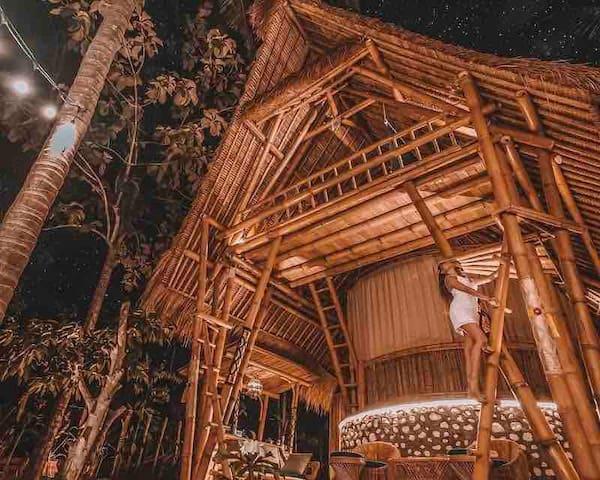 La Royale private Villa || Exotic BAMBOO n BBQ🎋