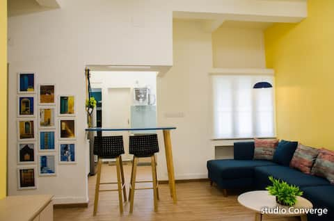 2 bedroom apartment in heart of city