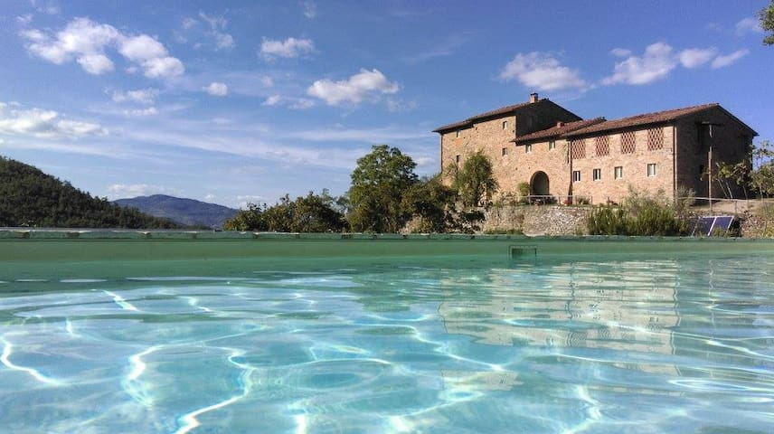 Cosy Tuscan Retreat, Il Melograno - Borselli - Huoneisto