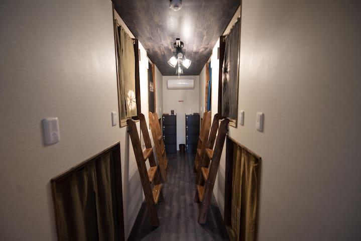 【コロナ感染症対策済】男女混合相部屋 4名までの利用 〈ワーケーション・リモートワーク歓迎〉