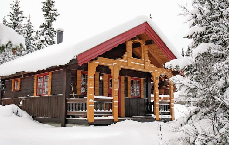 Cosy cabin in the mountain