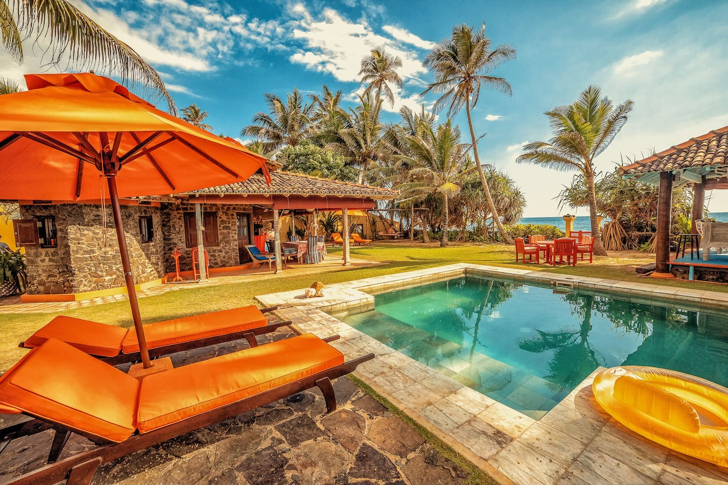 Kikili Beach House is a one-bedroom villa, right next to the beach.