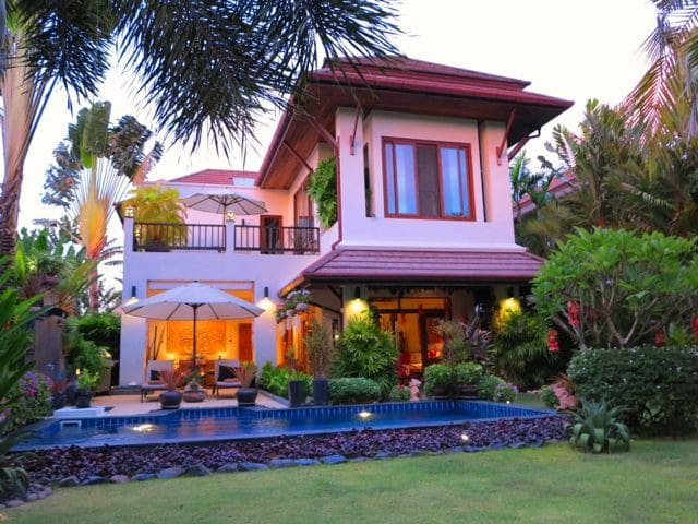 Luxury 3 bed holiday house with pool sleeps 8 - Chalong - Casa