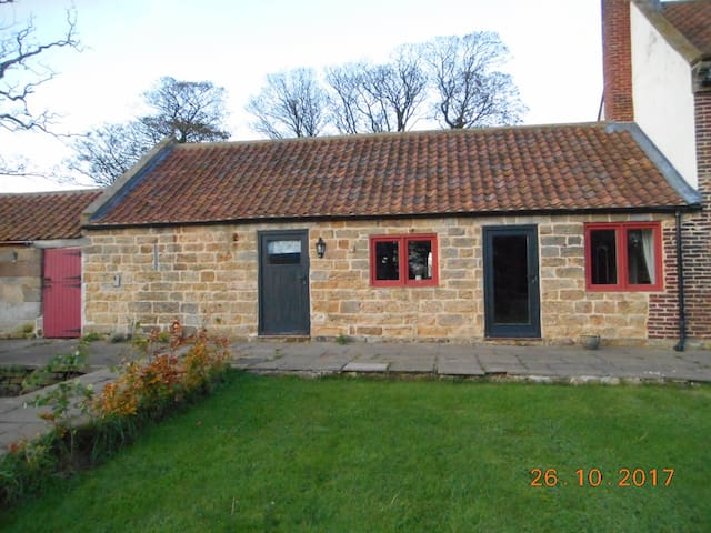 One bedroomed holiday home on a dairy farm.