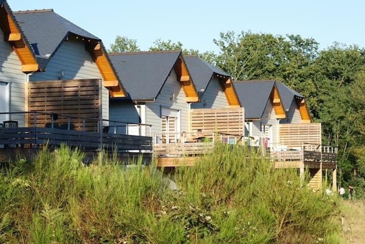 Chalet 6 pers - piscine - Loire Valley