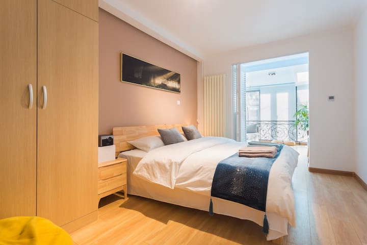 Tsinghua Uni. WuDaoKou  apartment w. 2 bd.  rooms