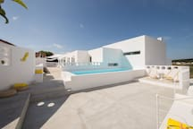 Shared Pool and Patios