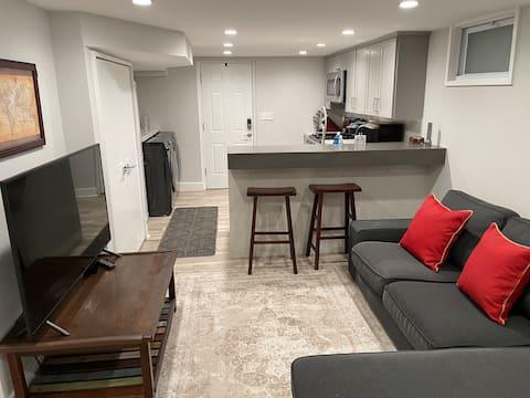 Apartamento Porão em Friendship Heights, D.C.