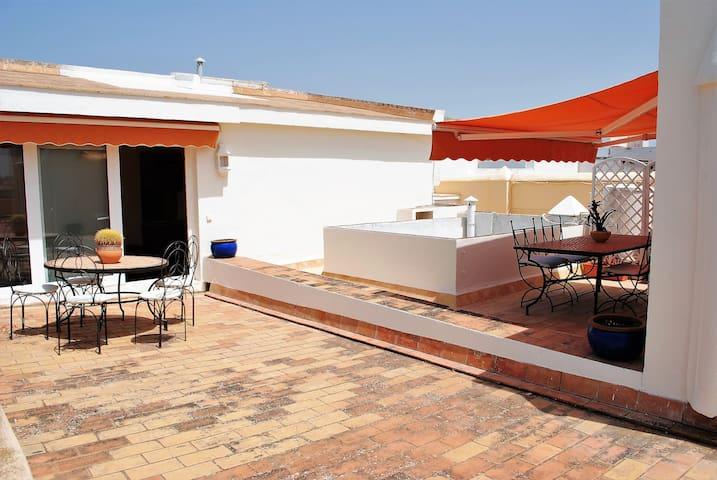 Ático con 250 metros cuadrados de terraza - Cádiz - Departamento