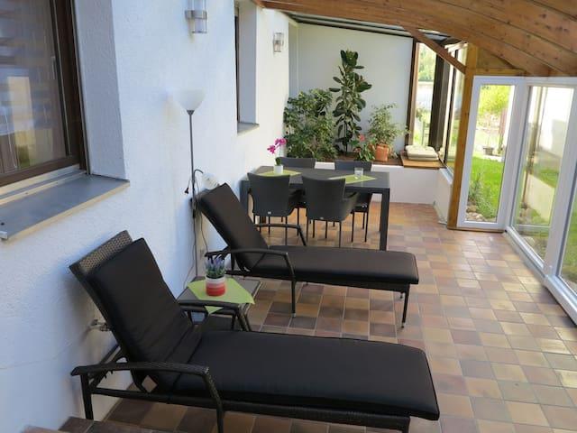 Ferienwohnungen Martin Lafar, (Öhningen), Wohnung Andrea, 70 qm, 1 Schlafzimmer, max. 2 Personen
