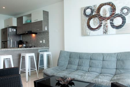 1 Bedroom in Bocagrande's Newest Building - Cartagena - Wohnung