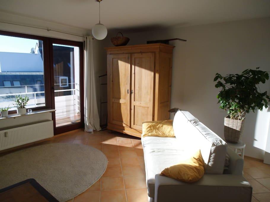 Sonnendurchflutetes Apartment