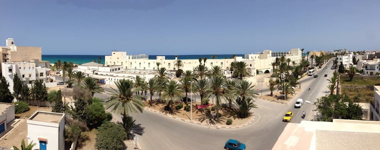 Apartement 200m Mahdia Beach