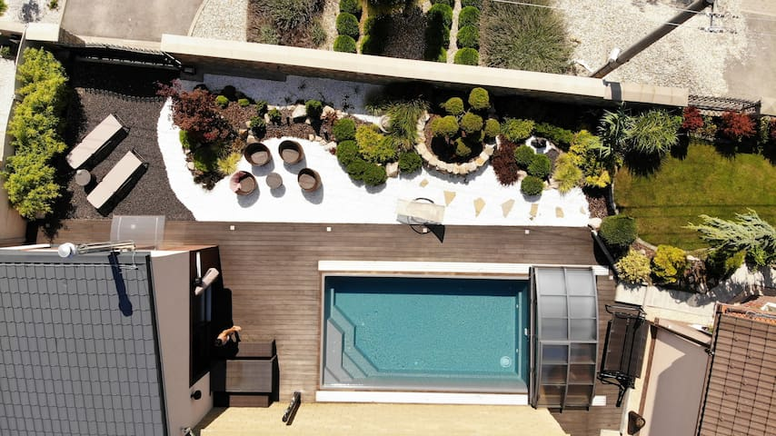 Tiny House with private Pool
