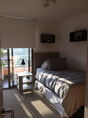 1 dorm., baño privado, Mall Portal La Dehesa - Lo Barnechea - Apartment