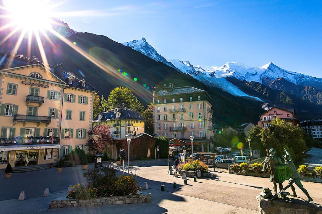 Casino charming apartment in center of chamonix - Chamonix mont blanc office du tourisme ...