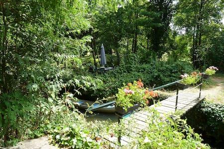 Riverside property near Argenton sur Creuse(36) - Le Pont-Chrétien-Chabenet