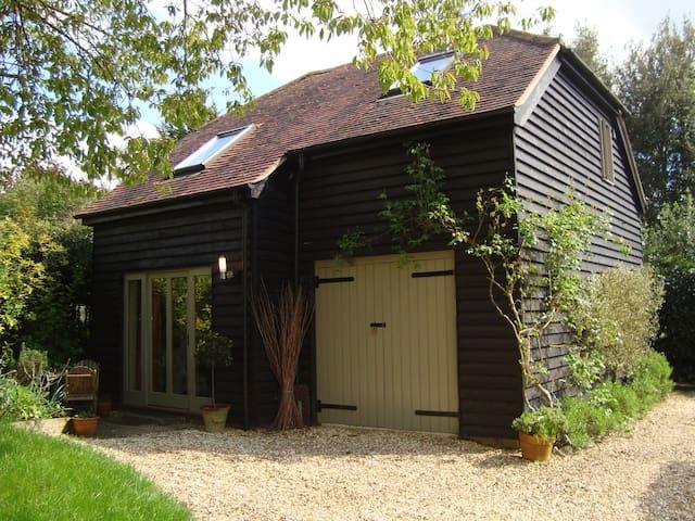 Charming Barn b&b in Winchester - Twyford - Penzion (B&B)