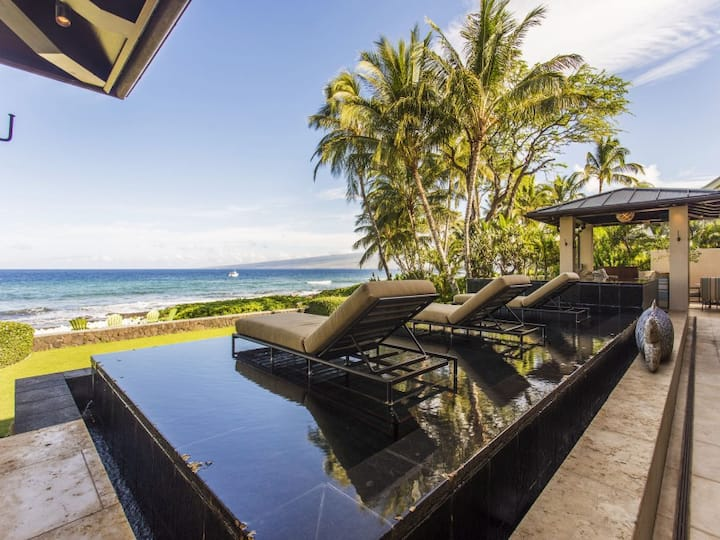 Puako Oceanfront Escape - Whale watch all winter! - Hale I'a U'i - Beautiful Fish House