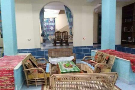 Private villa swimming pool Nile view