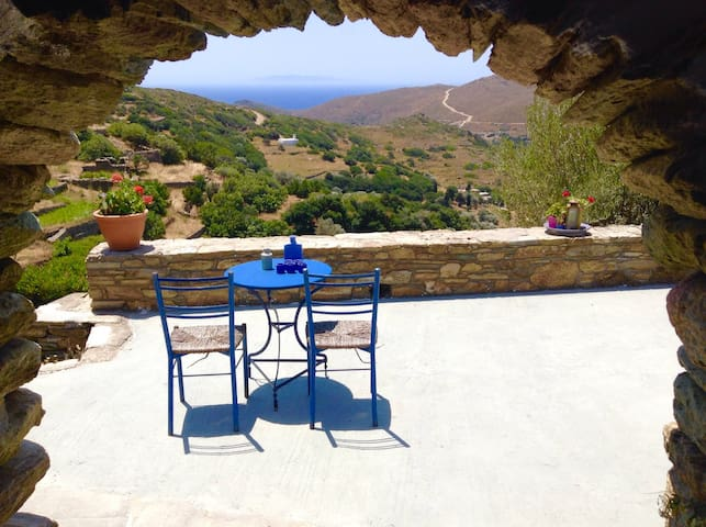 Traditional Island Apartment - Gavrio - Appartement