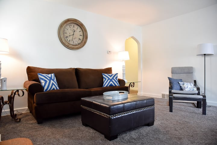 Spacious & Peaceful 2BR +Private Parking & Porch