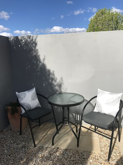 Your own little terrace