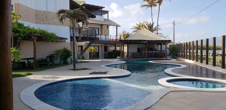 Casa de Praia em Genipabú Vista para o Mar (Natal)