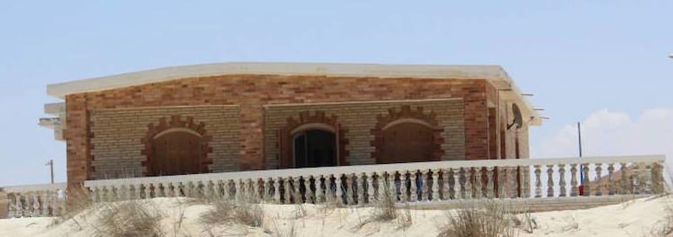 Charming Mediterranean Beach House - Zawyet Umm El-Rakham - Faház