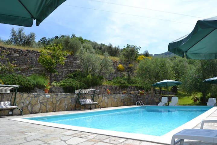 Beautiful apartment with s-pool 7 km from Florence