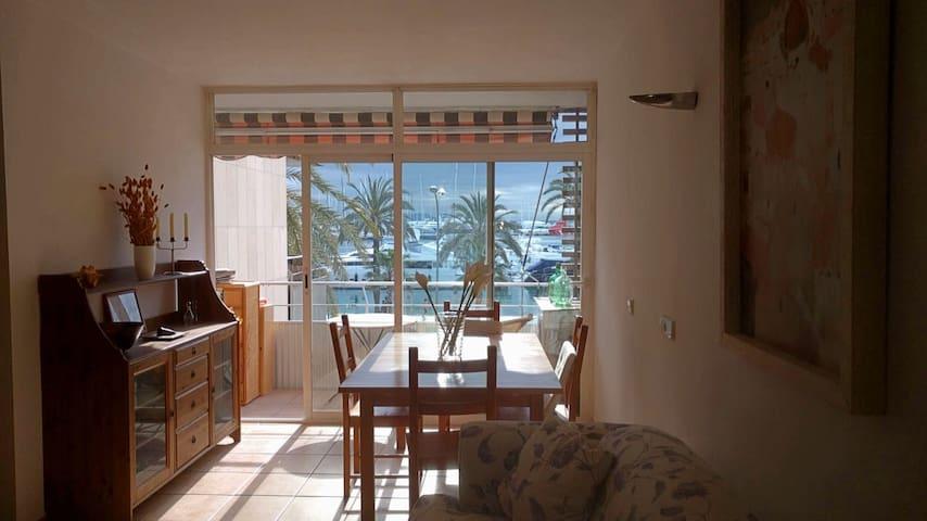 Apartamento frente al mar. Paseo Marítimo de Palma - Palma - Leilighet