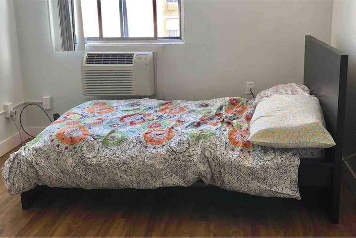 Single bed (not recommended for two or those over 6ft tall/1.8m)