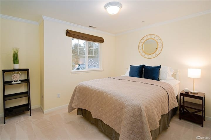 Private bedroom with many great shared amenities