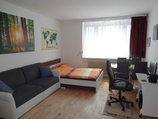 Flat in Linz, tram/parking/WLAN, no cleaning fee