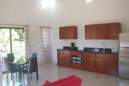 Studio with balcony just 100 m from the beach - Coco