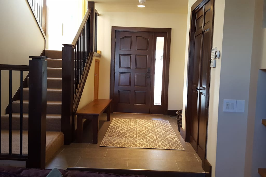 Front hall with stairs to 2nd floor