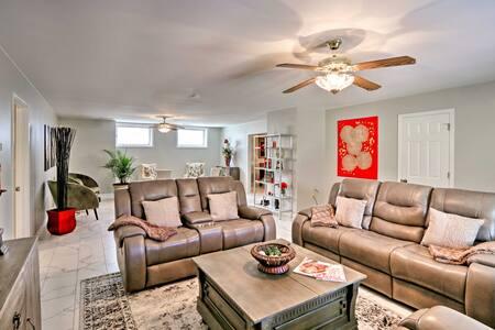 Memphis Home on 20 Acres, 10 Mi. to Downtown!