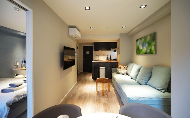 Real Life KUDANSHITA Posh 1-bedroom/5pax/3mins sub