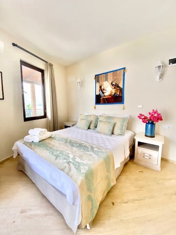 lovely bedrooms - all with a great view of the bucak bay