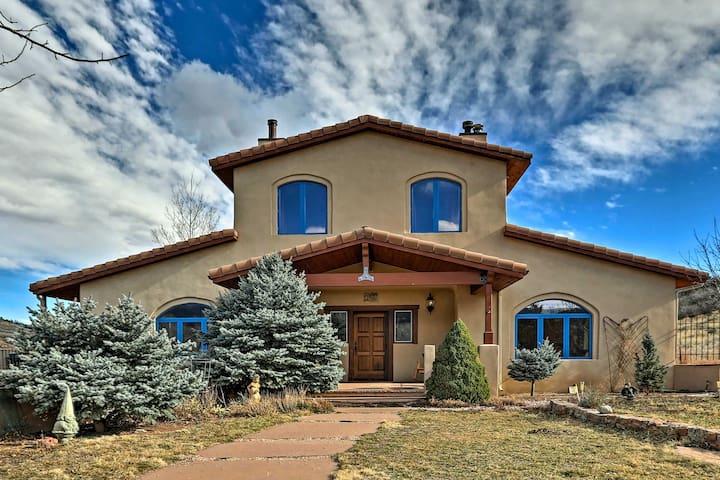NEW Tuscan 8BR Lyons Villa w/ Patio & 44 Acres!