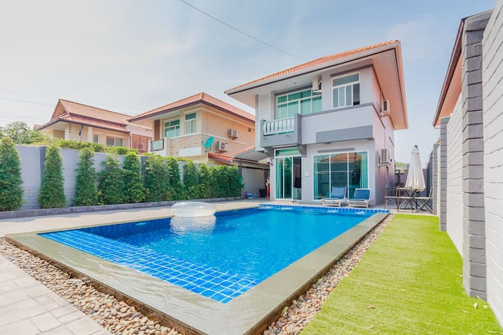 The Momo Villa 3 Bedrooms near walking street - Pattaya - Villa
