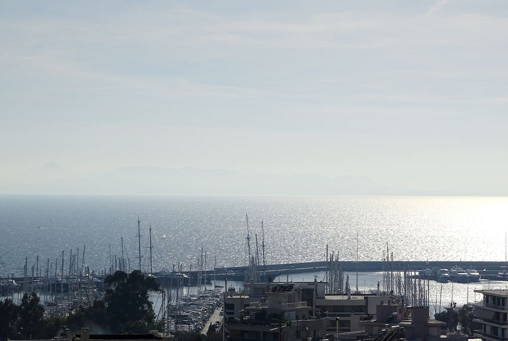 Marina of Alimos - View from the Balcony