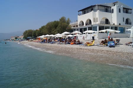 Lovely Hotel Room in Potokaki Samos With Sea View - Potokaki - 旅舍