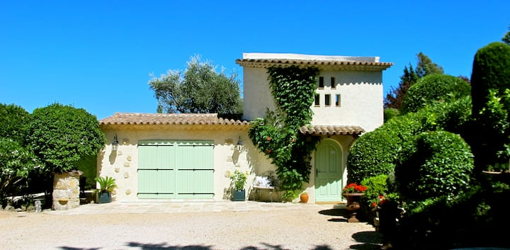 A property near Cannes, Valbonne and Mougins