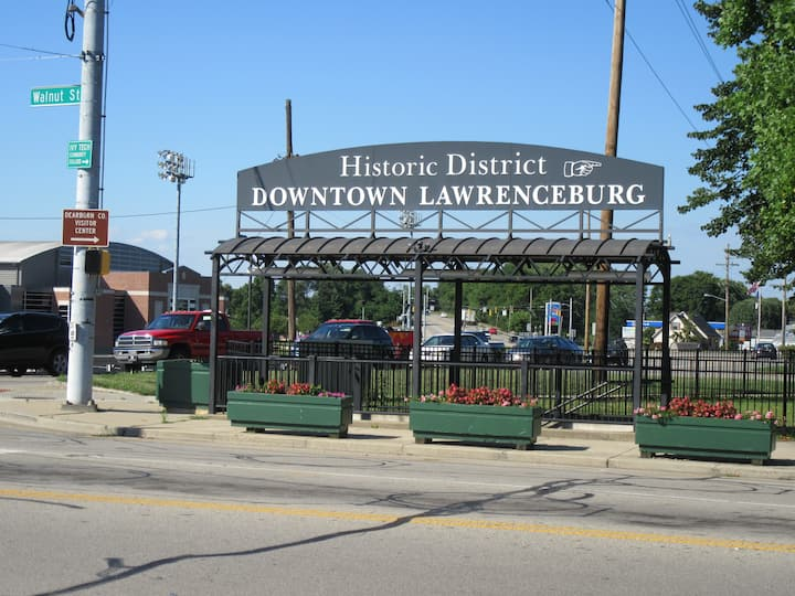Downtown Lawrenceburg, Indiana