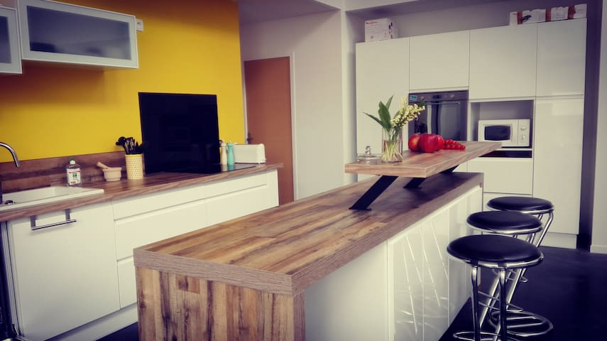 Spacious and bright Loft 145 m² - Tourcoing - Loft