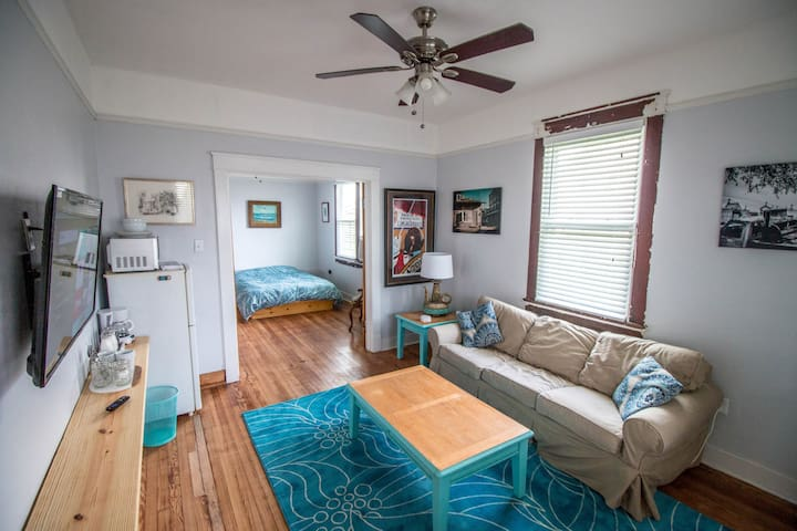 1BR 1BA 2017 Independent Apartment off Oak Street