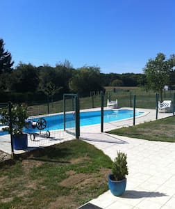 Fermette avec piscine proche de Sancerre