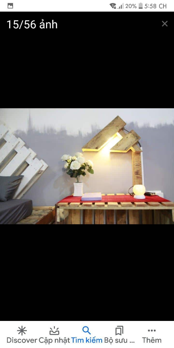 Pallet house is s homestay with nice decoration