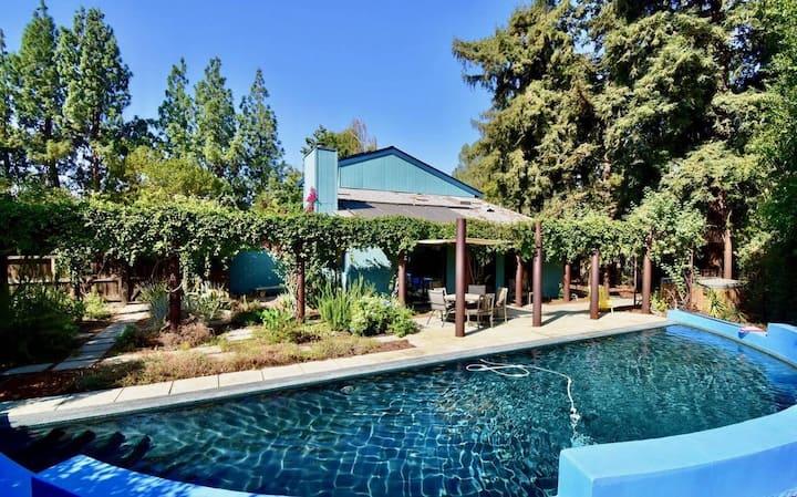 Spacious Designer House with a Garden Yard